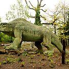 London - Crystal Palace - Dinosaur by rsangsterkelly