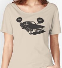 Home is the Impala Women's Relaxed Fit T-Shirt