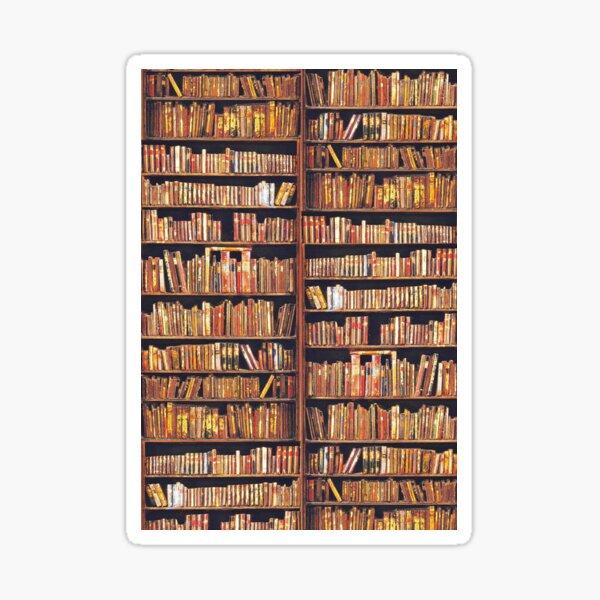 Bibliophile Sticker