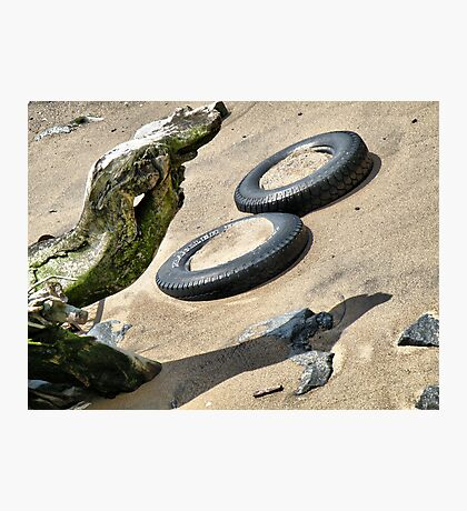 Hudson River Discards 2012 Photographic Print
