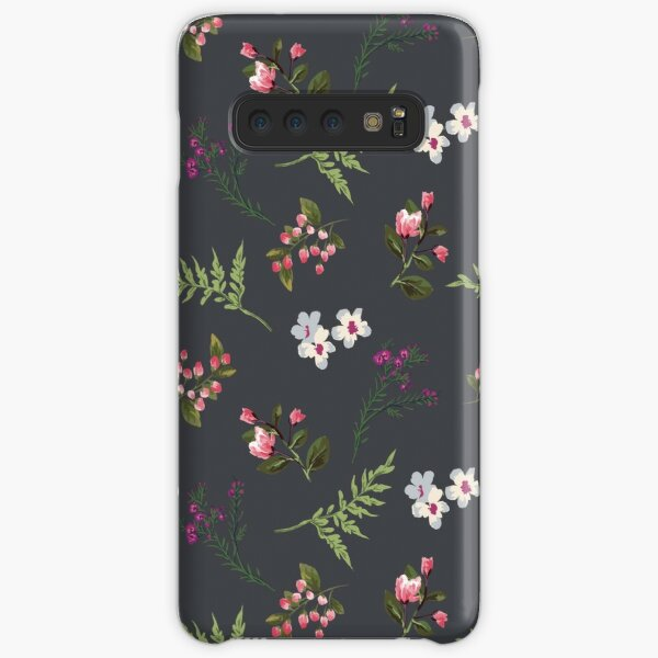 Vintage Flowers Samsung Galaxy Snap Case