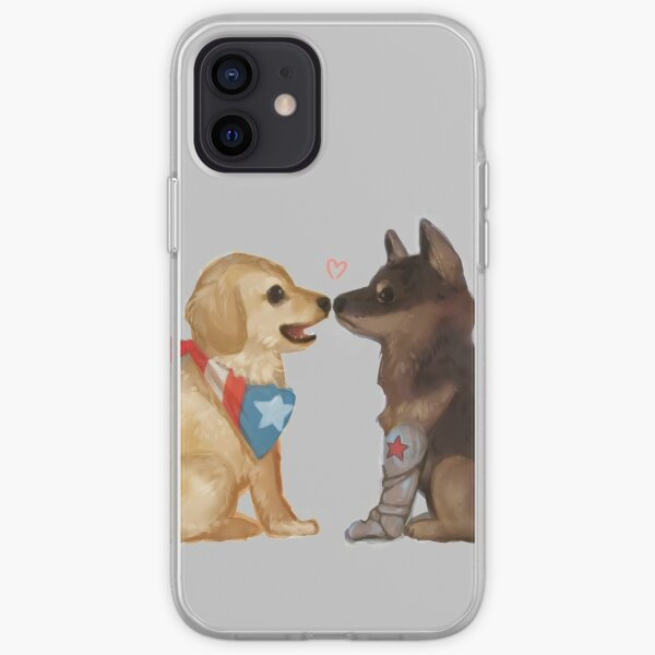 Cap et Bucky Coque souple iPhone