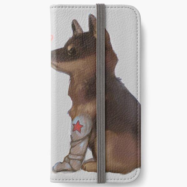 Cap & Bucky iPhone Wallet