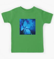 Mom and her little one matching Blue Beauty QTees Kids Tee