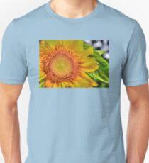 Mom and Baby matching Sunflower QTees Unisex T-Shirt