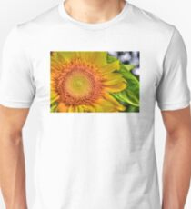 Mom and Baby matching Sunflower QTees Unisex T-Shirt
