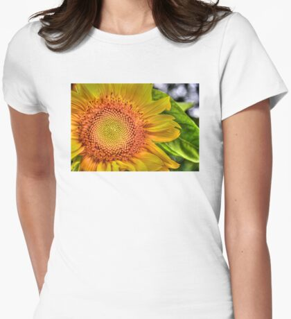 Mom and Baby matching Sunflower QTees T-Shirt