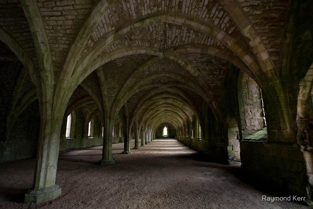 Fountains Abbey - Yorkshire (28-15) by Raymond Kerr
