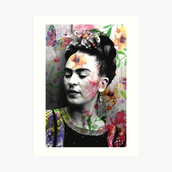 Frida Khalo T-Shirt Künstlerin Kunstdruck
