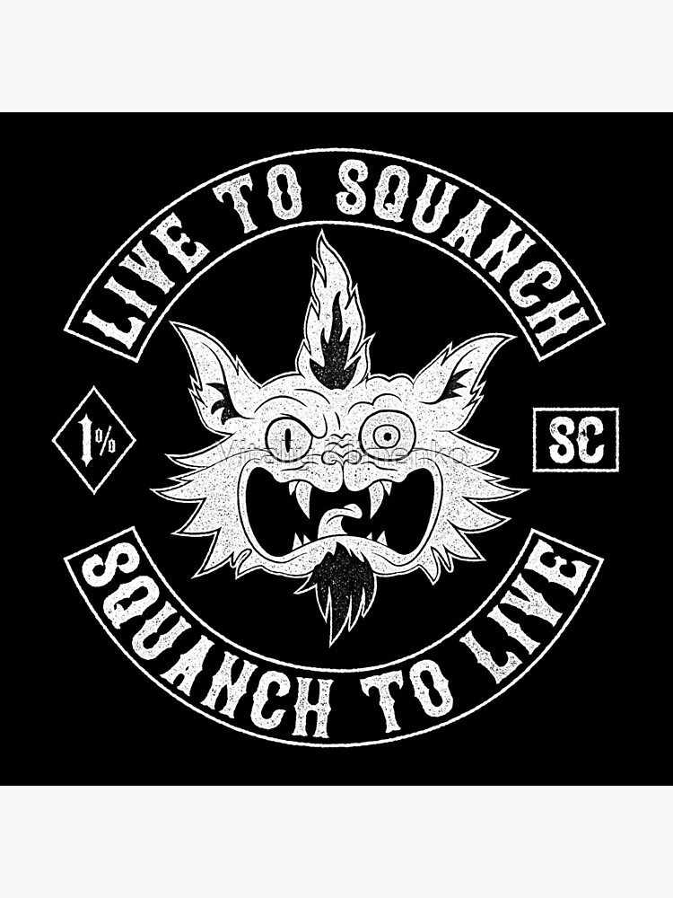 Squanch Club, one color by Donot