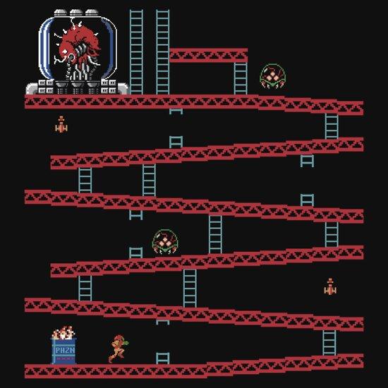 TShirtGifter presents: Metroid Kong | Unisex T-Shirt