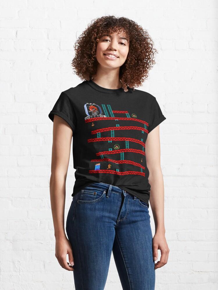 Alternate view of Metroid Kong Classic T-Shirt