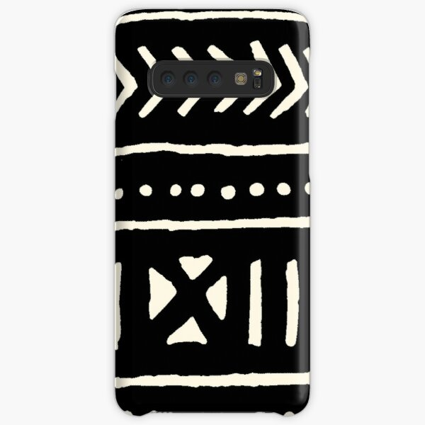 african mud cloth black and white Samsung Galaxy Snap Case