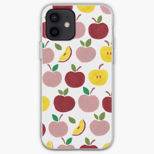 Apples Gouache Illustration iPhone Soft Case