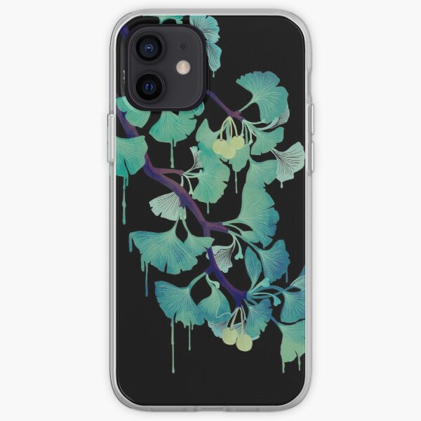 O Ginkgo (on Black) iPhone Soft Case