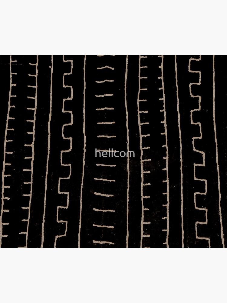 simple african mud cloth by hellcom