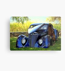 The Midnight Ride Metal Print