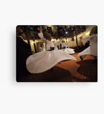 Whirling Dervishes Canvas Print