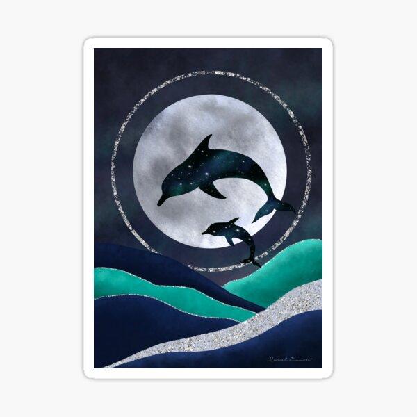 Night Swimming Sticker