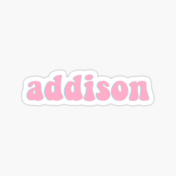 addison Sticker