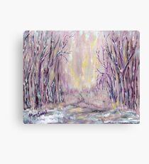 DAZZLING WINTER  Canvas Print