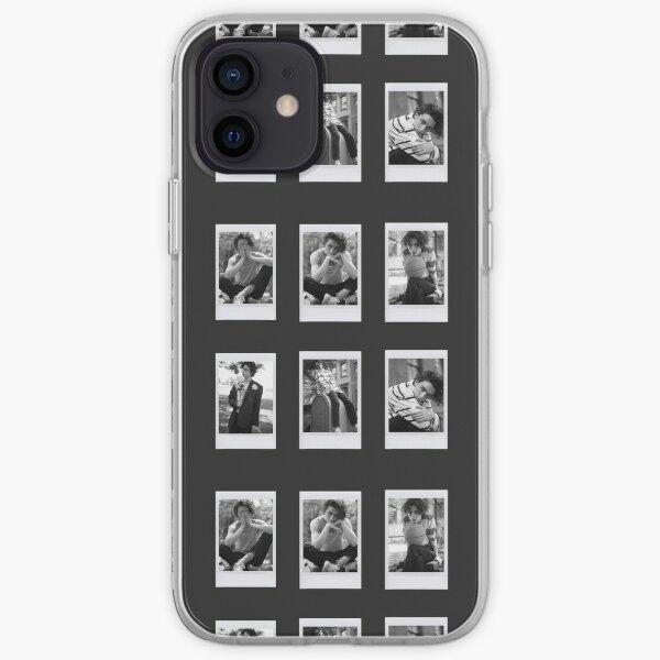 Timothée Chalamet 6 pièces polaroids vogue Coque souple iPhone