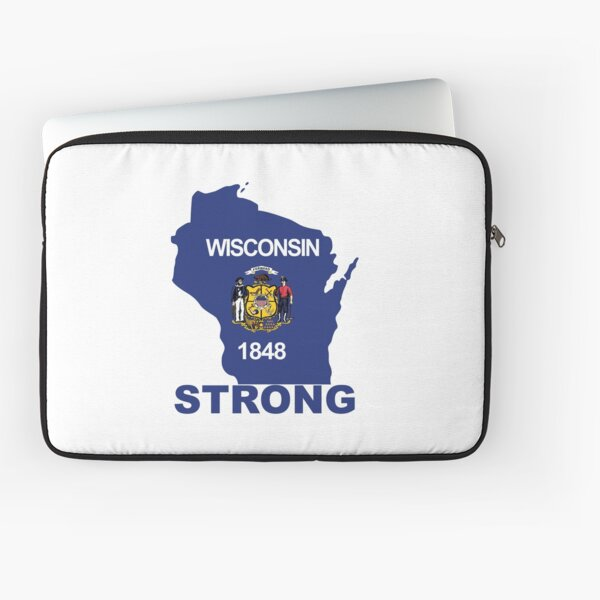 Wisconsin Strong Laptop Sleeve