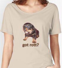 Got Rott? Rottweiler Owner  Women's Relaxed Fit T-Shirt
