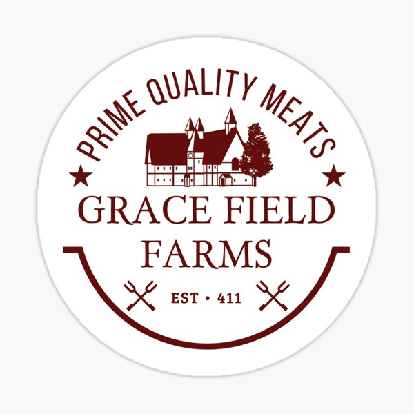 Grace Field Farms - TPN Pegatina