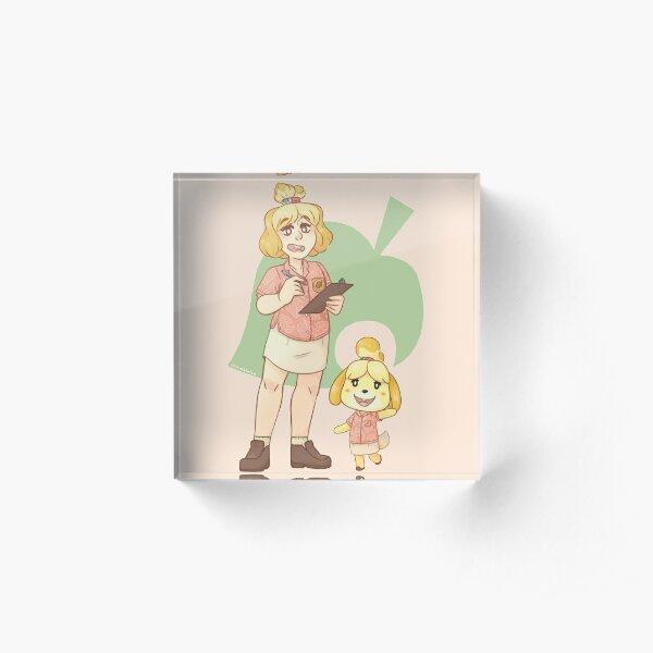 Animal Crossing Isabelle  Acrylic Block