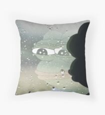 When Will My Feels Return From War Throw Pillow