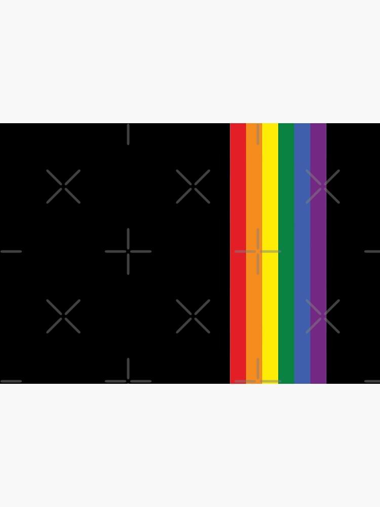 Regenbogen Stolz LGBT-Streifen von Ricaso