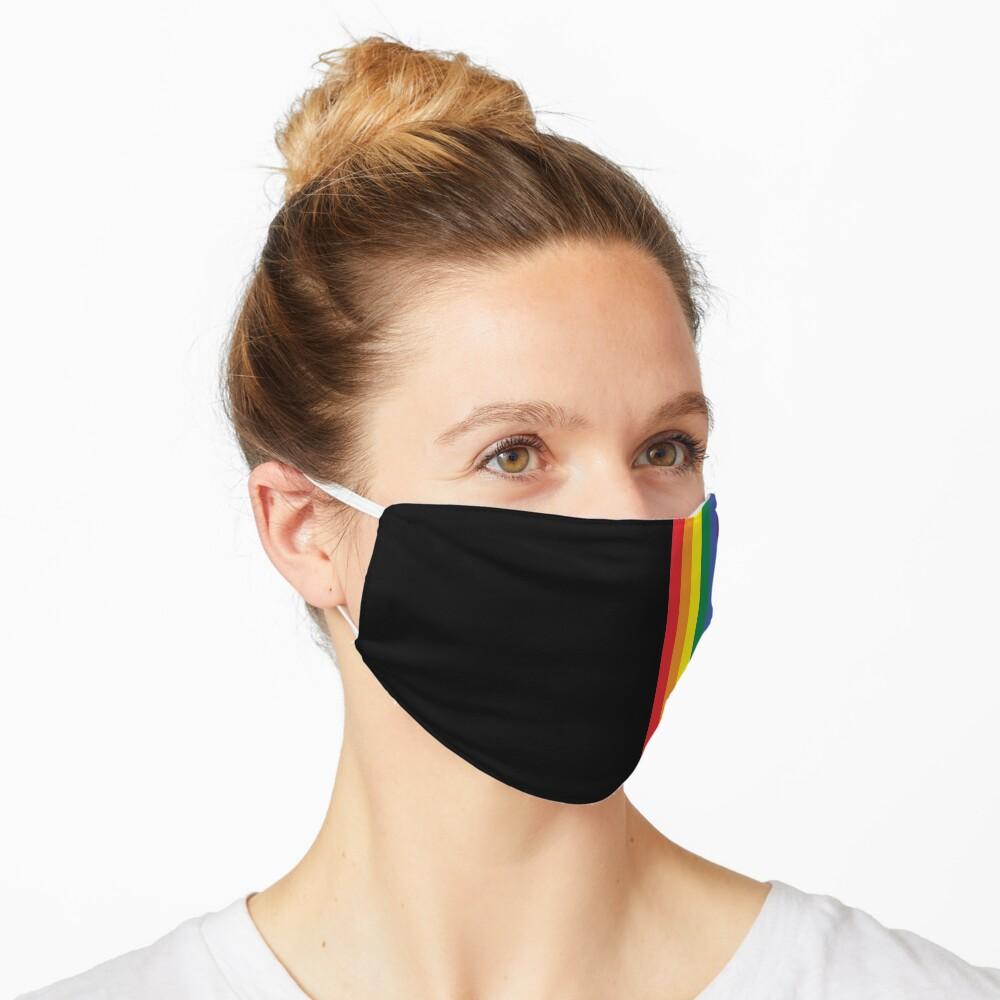 Regenbogen Stolz LGBT-Streifen Maske