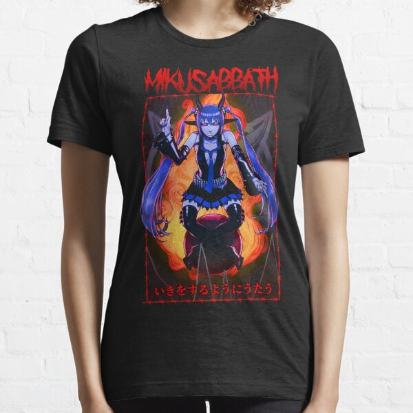 mikusabbath red alt Essential T-Shirt