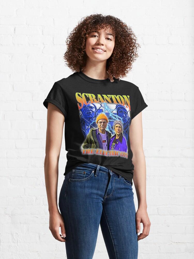 Alternate view of Scranton: The Electric City Classic T-Shirt