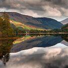 Loch Dùghaill, Scotland, UK by Gabor Pozsgai