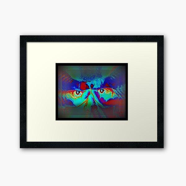 Within his Eye's Framed Art Print