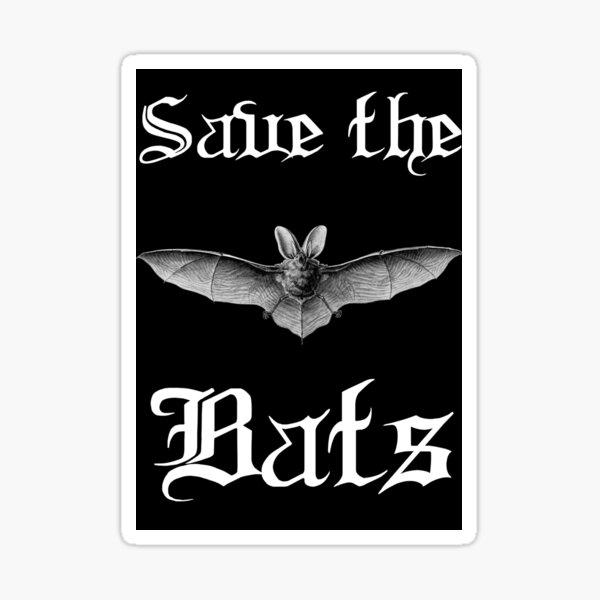 Save the Bats Sticker
