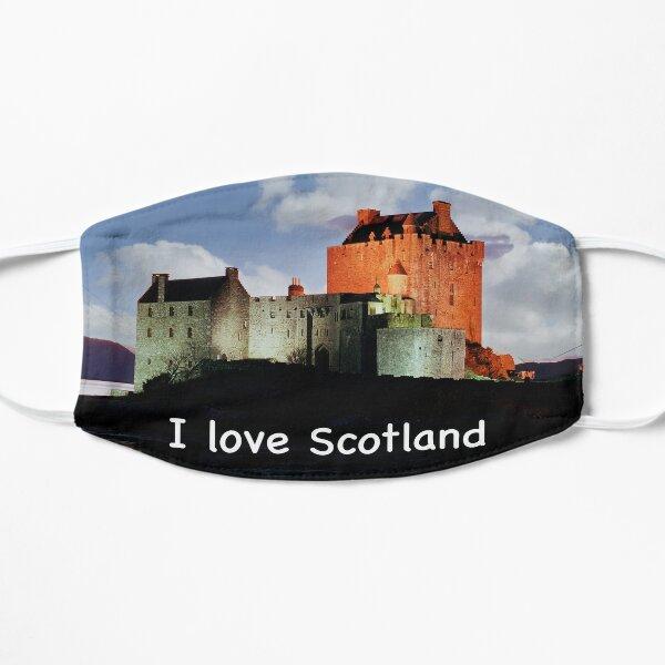 I love Scotland and Eilean Donan Castle Mask