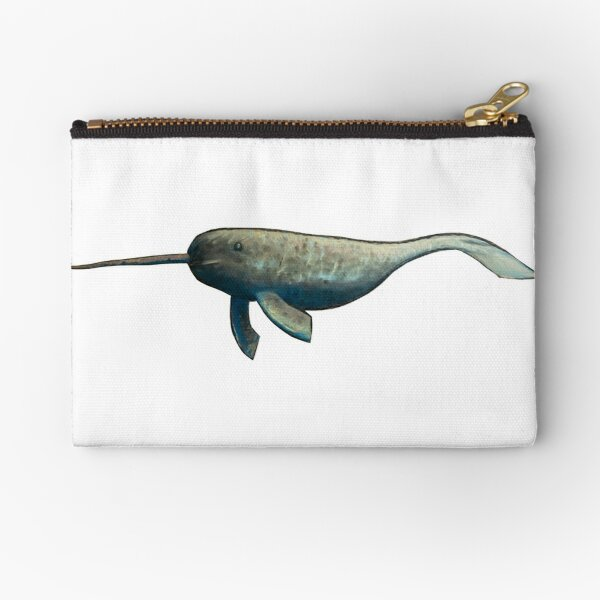 Narwhal Zipper Pouch
