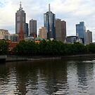 Yarra River in Melbourne by Laurel Talabere