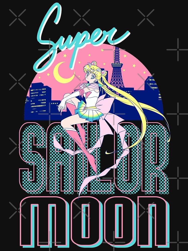 Super Sailor Moon ~ Luces de la ciudad de Tokio de SassySpice