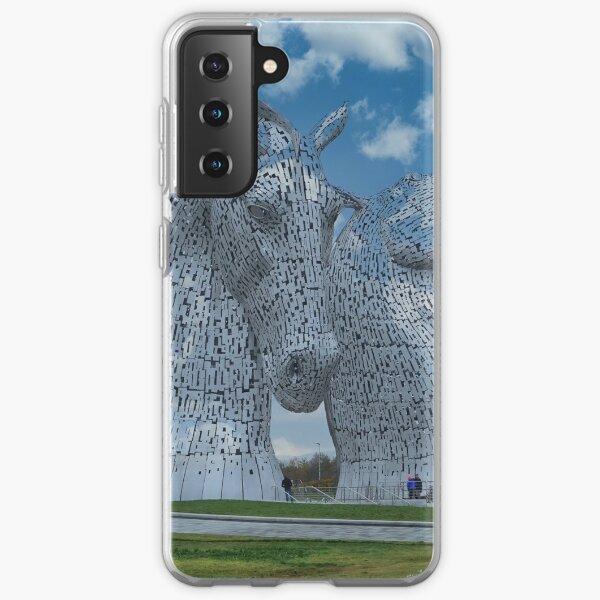 The Kelpies, Helix Park, Falkirk, Scotland Samsung Galaxy Soft Case