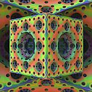 Psychedelic Swiss Cheese by Lyle Hatch
