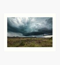 Storm Over The Darling Downs Art Print