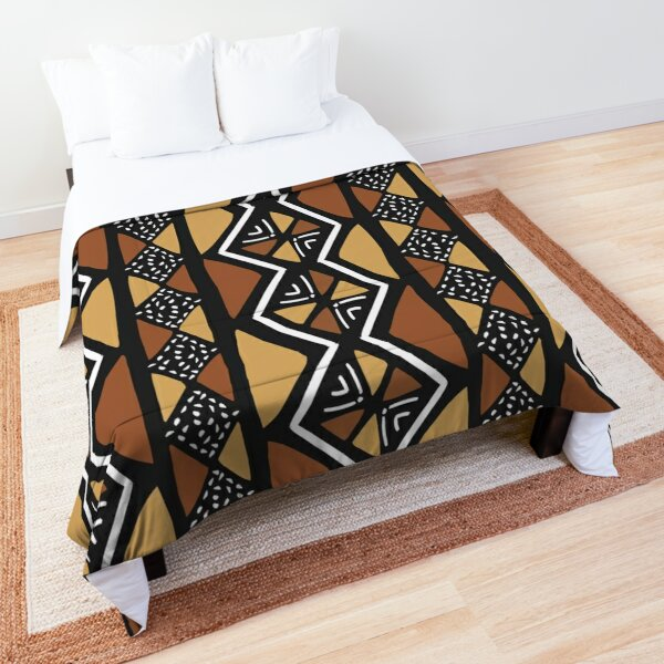 African Mud Cloth Mali Comforter