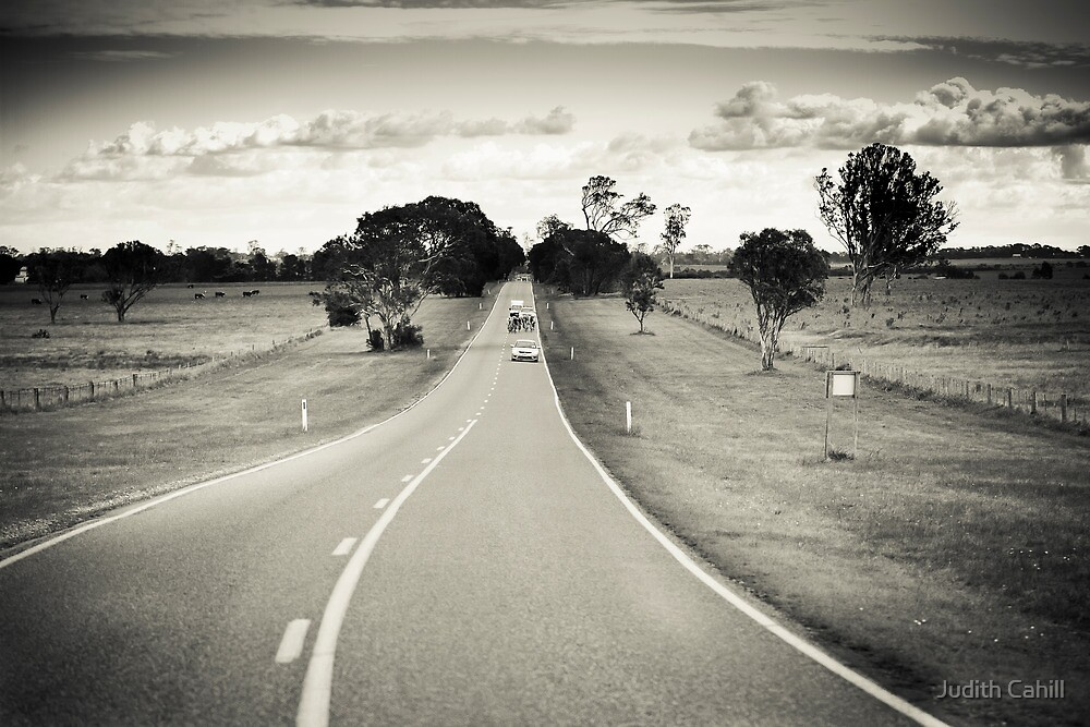 Riding the long road by Judith Cahill