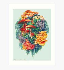 Fungus Amongus Art Print