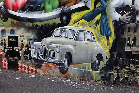 Australiana Memorabilia Wall by Gavin Kerslake