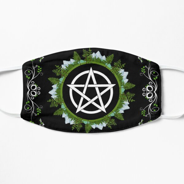 Green Witch Pentacle Mask